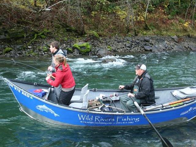 Chetco river fishing river salmon and steelhead for Brookings fishing charters