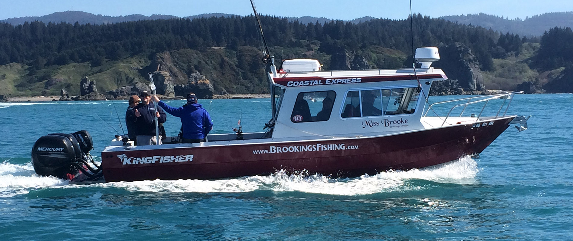 Our story southern oregon fishing brookings fishing for Brookings fishing charters