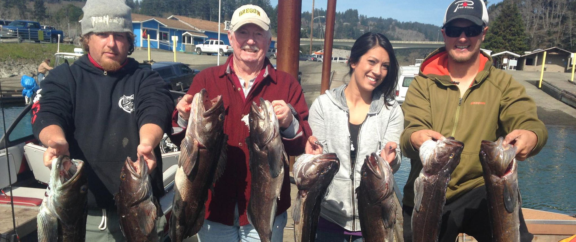 Thank you brookings fishing charters for Brookings fishing charters